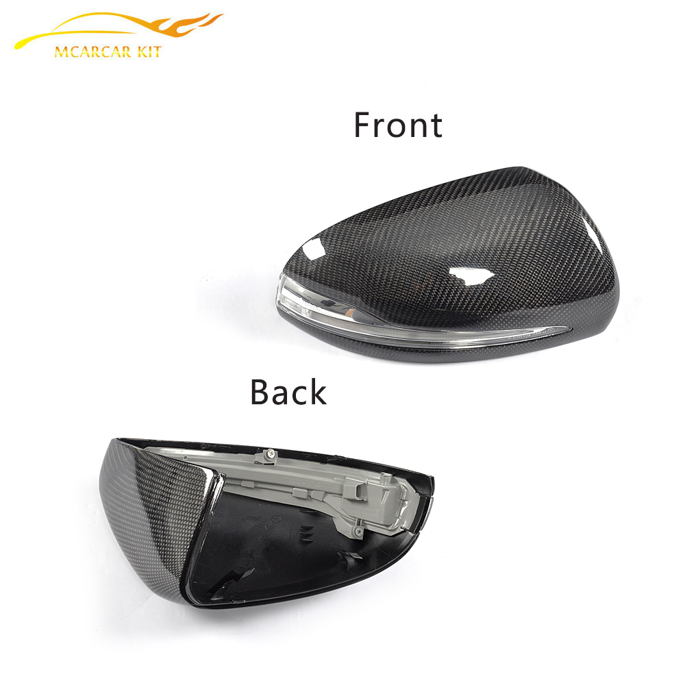Rearview Mirror Cover Side Wing Mirror Cap fit for Mercedes Benz W205 W222 14-15