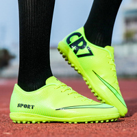 Official Men Boys Training Superfly VI Elite CR7 Outdoors Soccer Shoes Muscle Waterproof Football Shoes Adult School Sneakers