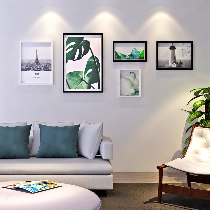 Big Size Wood Photo Frames Murals Combination Creative