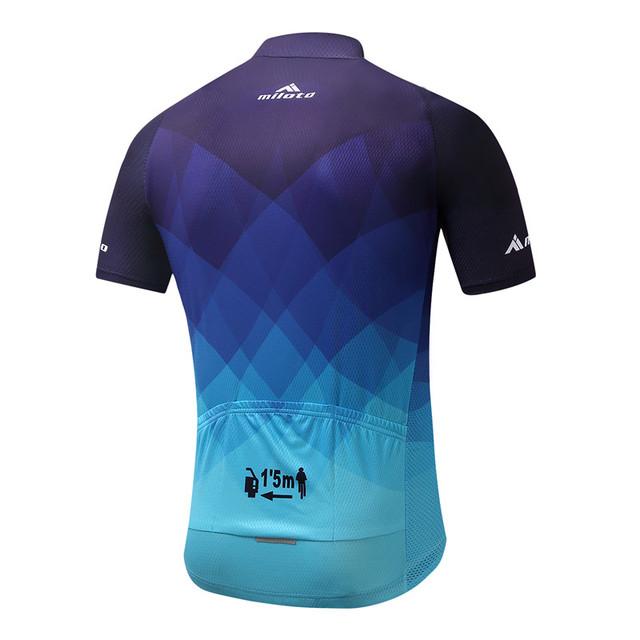 MILOTO 2017 Cycling Jersey Tops Summer Racing Cycling Clothing Ropa Ciclismo Short Sleeve mtb Bike Jersey Shirt Maillot Ciclismo