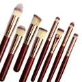 8Pcs Makeup Brush Set Cosmetic Blush Brush Eyebrow Foundation Powder Brushes Set