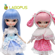 lagopus Exquisite BBgirl 1/6 DIY Doll Toys for Children High Quality Joints Doll Make Up Birthday Gift for Kids ever after doll 9 5 inch high quality toys apple white raven quee joint 11 joints birthday gift for barbie accessories diy doll