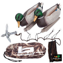 NEW BANDED GEAR JERK RIG DUCK GOOSE DECOY MOTION SWIMMING KIT