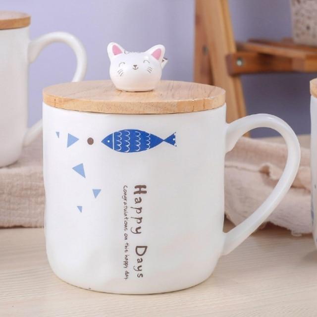 Creative Cat Mugs 4