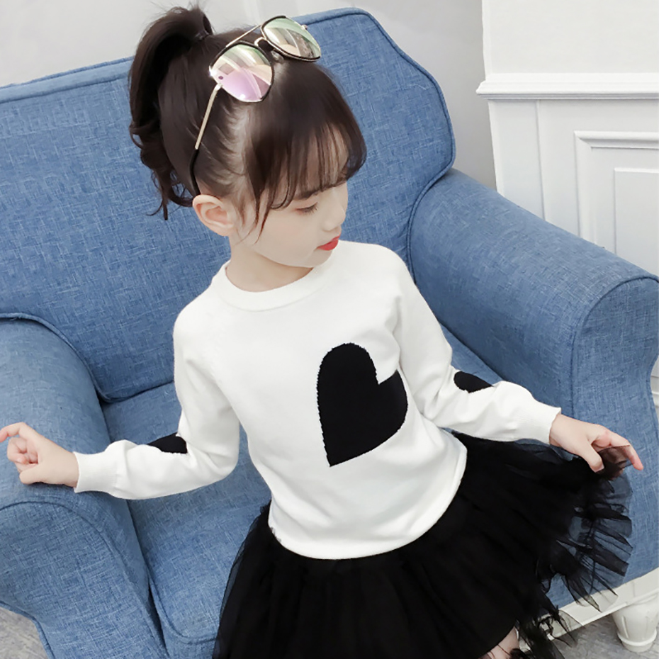 Image 2 - New Girls Sweater Print Sweater For Girls Spring Kids Clothes Teen Kids Top Children's Costume For Teenage Girl 6 8 12 Years-in Sweaters from Mother & Kids