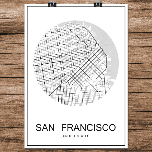 US $1.99 |Black White World City Map of SAN FRANCISCO Print Poster on las vegas map usa, wilmington map usa, minneapolis map usa, seattle map usa, sacramento map usa, nyc map usa, san fran bay map usa, new orleans map usa, st louis map usa, montgomery map usa, maui map usa, montreal map usa, portland map usa, little rock map usa, baton rouge map usa, lake erie map usa, augusta map usa, boise map usa, tacoma map usa, miami map usa,