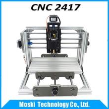 Cnc 2417, cnc máquina de grabado de bricolaje, 3 ejes de mini Pcb Fresadora Pvc, Metal máquina de Talla De Madera, cnc router, cnc2417, grbl control