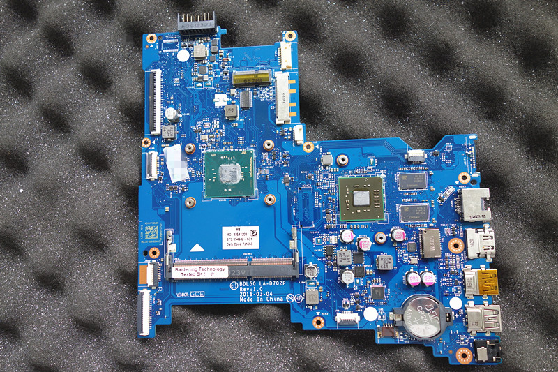 854942-601 fit for hp 15-AY N3710 cpu LA-D702P system mainboard Fully Tested854942-601 fit for hp 15-AY N3710 cpu LA-D702P system mainboard Fully Tested