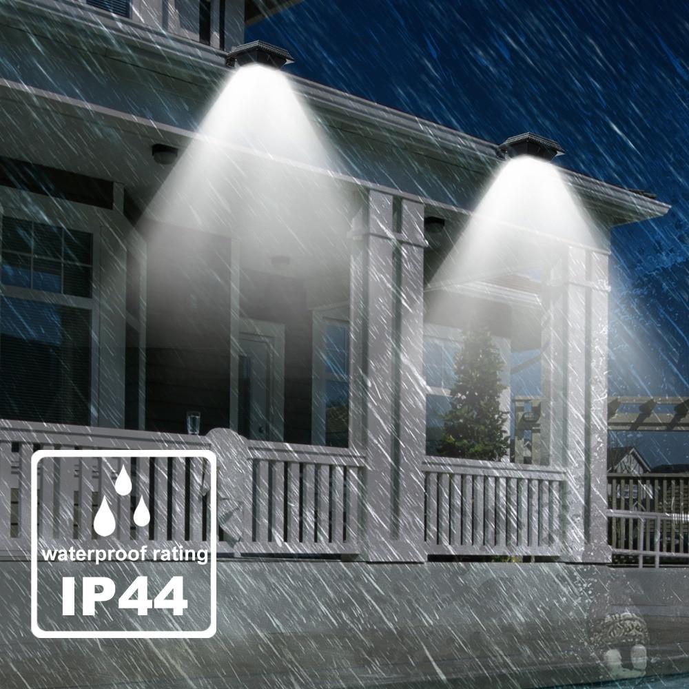 KHLITEC-4PCS-12-LED-Solar-Gutter-Light-Lamp-For-Outdoor-Garden-Fence-Security-Lawn-Light-Sensor-Outdoor-Lighting-Wall-Lamps6