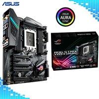 Asus ROG STRIX X399 E игровой материнской платы AMD X399 разъем TR4 8XDDR4 128 ГБ E ATX материнская плата