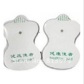 good quality white Electrode Pads for Tens Acupuncture,Slimming massager , Digital Therapy Machine Massager