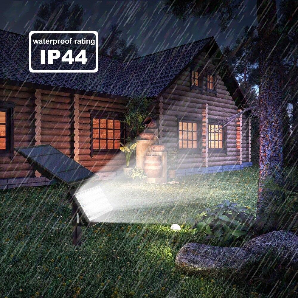 2 pacote luzes de inundação ao ar