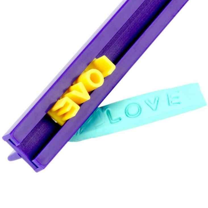 Molde para hornear flor estrella del corazón cortador alfabeto letra número galleta prensa sello Acero inoxidable huevo molde galleta cortador GYH
