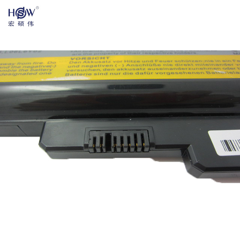 HSW battery For Lenovo 3000 B460 B550 G430 G430A G430L G430M G450 G450 G450A G450M G455 G530 G530A G530M G550 G555 N500 bateria in Laptop Batteries from Computer Office
