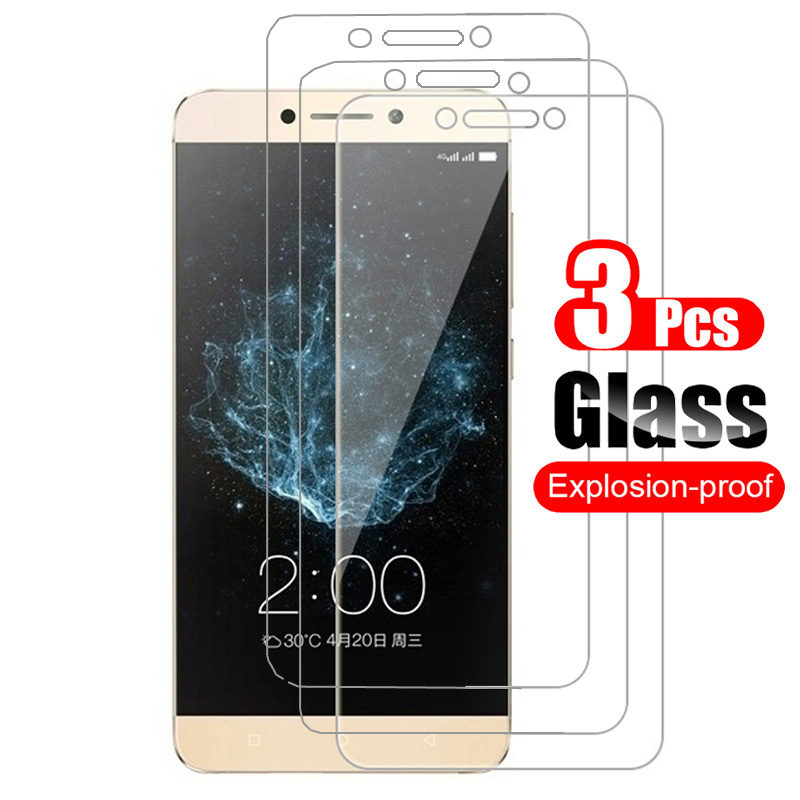 3Pcs Tempered Glass For Letv LeEco Le S3 X622 X522 X626 Screen Protector Toughened Protective Film For LeEco LeS3 Le S3