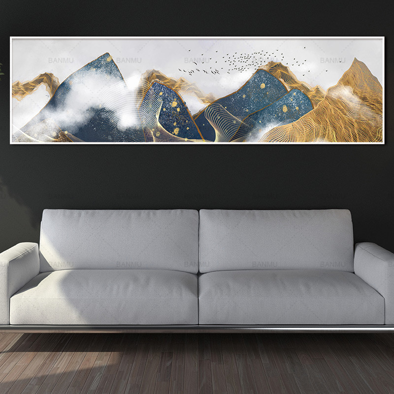 canvas painting wall picture art print mountain on canvas and posters wall art Painting decoration for living room no frame