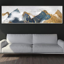 canvas painting wall picture art print mountain on canvas and posters wall art Painting decoration for living room no frame(China)