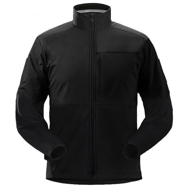 Extérieur cyclisme réfléchissant léger alpinisme veste tactique doux Shell hommes manteau Camping randonnée Trekking vêtements imperméables