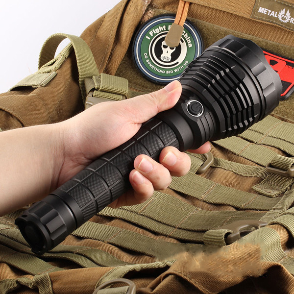 Newest For Camping Hiking FishingAluminum Alloy Waterproof 5Modes L6 XHP70 3800LM Super Bright Long Range LED Flashlight Convoy portable ultra bright waterproof aluminum alloy mini led flashlight