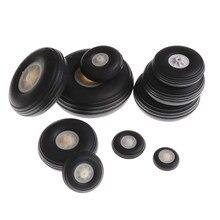 2 unids/lote rueda trasera caucho PU cubo de plástico 1