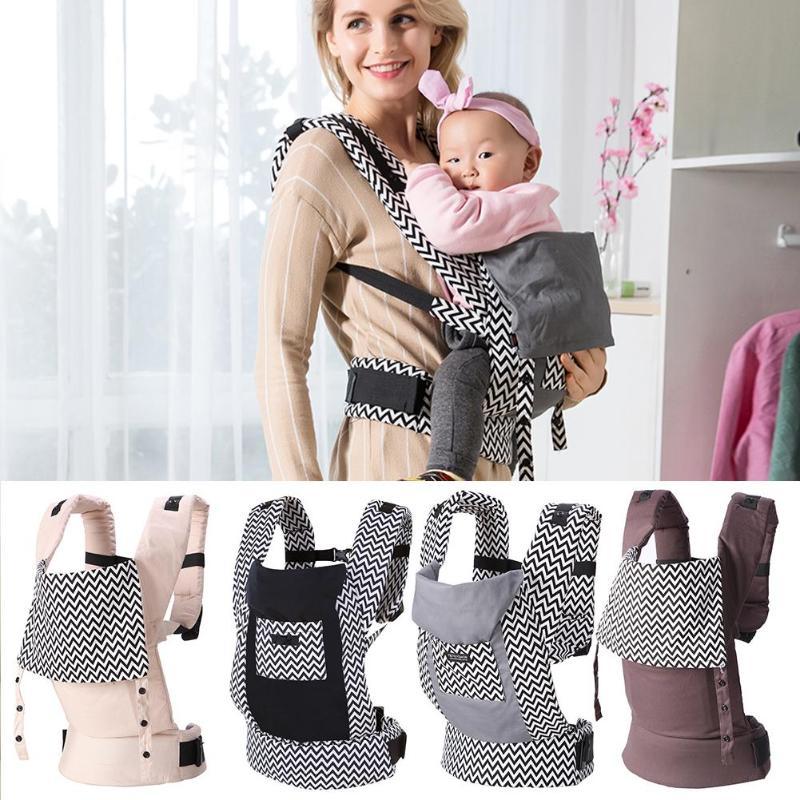 Pasgeboren Baby Carrier 5-36M Baby Ergonomische Voorkant Sling Rugzak Terug H-vorm gesp Kids Pouch wrap Carrier met Zak