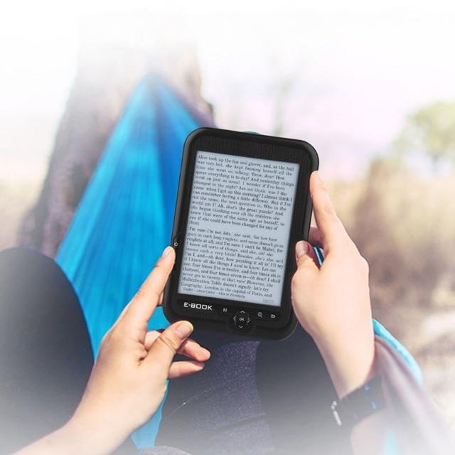 """GB/4 GB/8 GB/16 GB e-Book Reader 6 """"portátil lector de pantalla 16 Color gris 800*600 Resolución 167 DPI e-book apoyo de reproducción"""