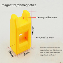2017 Hot Sale New Arrival Magnetize For Screwdriver Plus Porcelain Degaussing Minus Disassemble Charge Sheet Hand Tool Parts