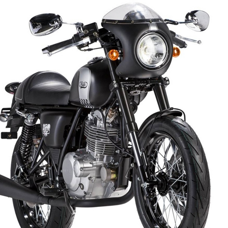 """1pc High Quality Retro Cafe Racer Fairing Universal fit 7"""" Headlight Handlebar Fairing&Screen for Covers & Ornamental Mouldings"""