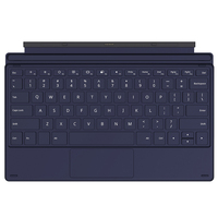 Hot Teclast Magnetic Keyboard for X4 Tablet PC Deep Blue Color plastic Dirt resistant Solid Color Easy to install or remove