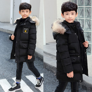 Image 2 - 2020 New Winter Clothing Boys 4 Keep Warm 5 Children 6 Autumn Winter 9 Coat 8 Middle Aged 10 Year 12 Pile Thicker Cotton Jacket