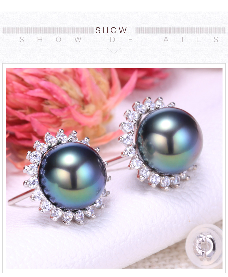 tahitian pearl earrings 99