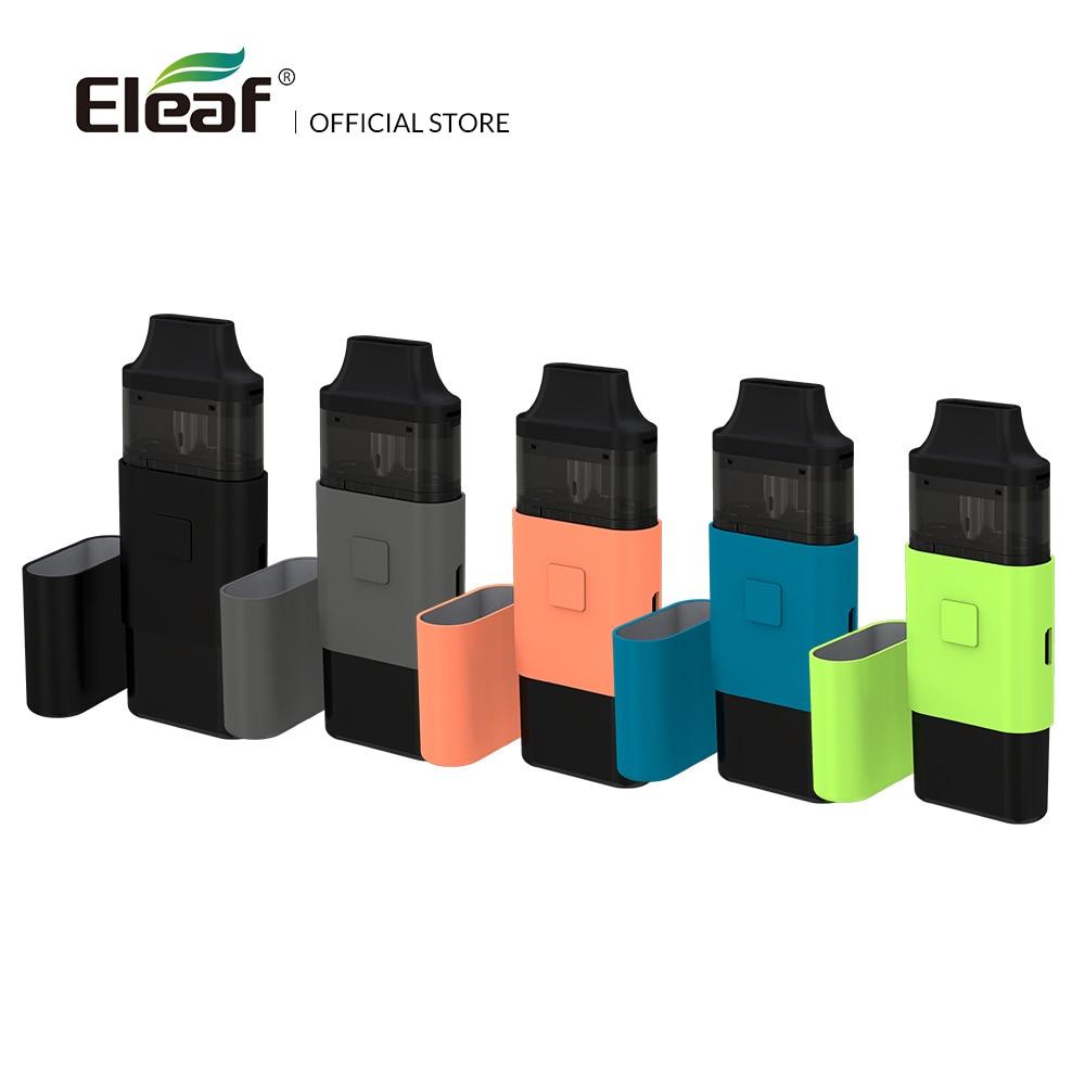 Francia almacén Original Eleaf iCard kit con 2 ml de E-líquido 650 mAh 15 W max dual-purpose cubierta de 1.2ohm cigarrillo electrónico