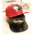 2016 Leather Summer Brand Metal Superman Europe Baseball Cap Sun Hat For Men Women Casual Hip Hop Snapback Caps