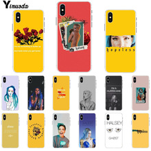 Yinuoda Halsey Hopeless Fountain Kingdom Customer High Quality Phone Case for iPhone 8 7 6 6S Plus X XS MAX 5 5S SE XR Cases yinuoda demi lovato customer high quality phone case for apple iphone 8 7 6 6s plus x xs max 5 5s se xr mobile cover