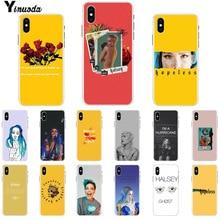 цена на Yinuoda Halsey Hopeless Fountain Kingdom Customer High Quality Phone Case for iPhone 8 7 6 6S Plus X XS MAX 5 5S SE XR Cases
