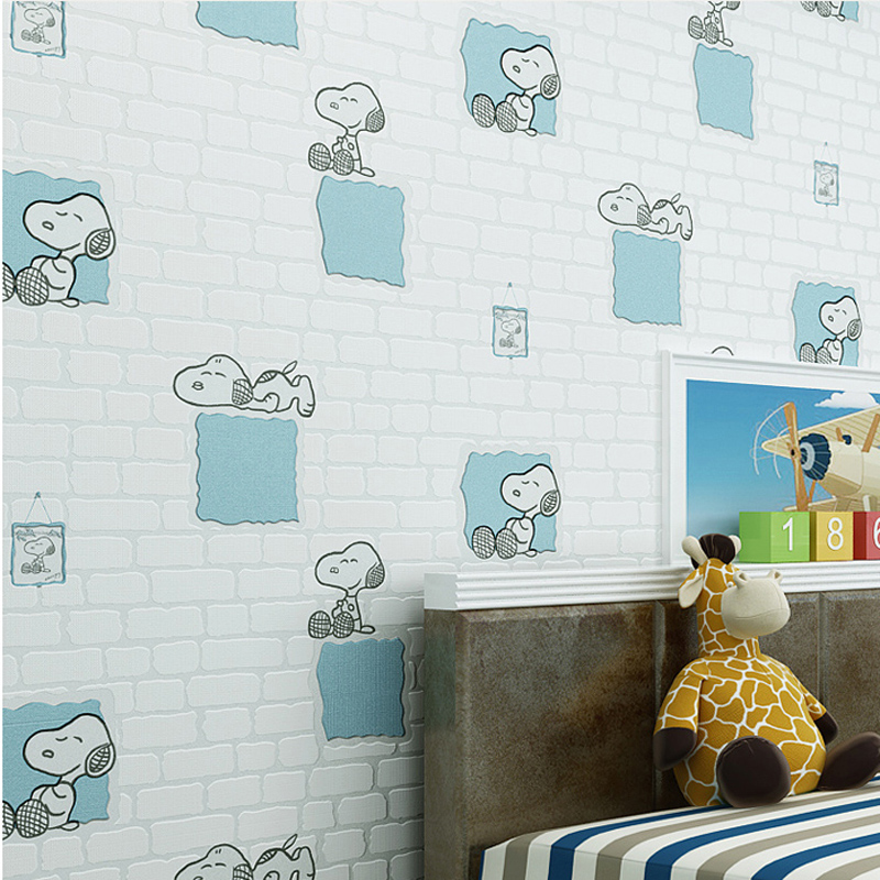 Dog Wallpaper For Walls eco friendly cute dog kids rooms wallpaper non woven wallpapers