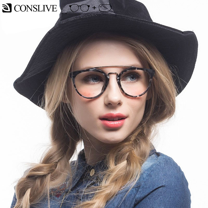 0f5f67f8aed96 Retro Round Glasses Frame Women Prescription Glasses Nearsighted Myopia  Glasses Men Optical Spectacles with 1.60 Clear Lenses