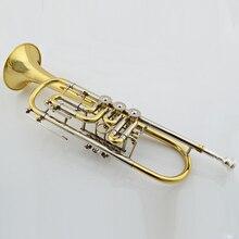 Качественная труба поставщик труба профессиональная Bb позолоченная труба с комплектом ухода и чехлом
