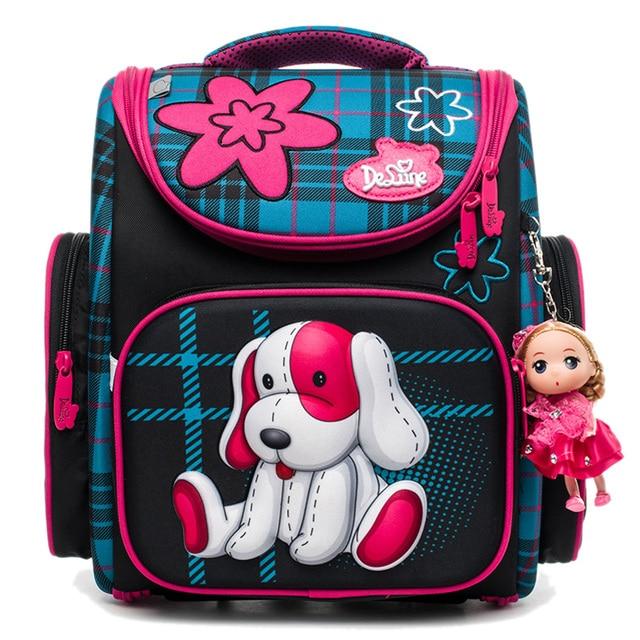 Delune 2018 New Cute School Bag Orthopedic Backpack Children ...