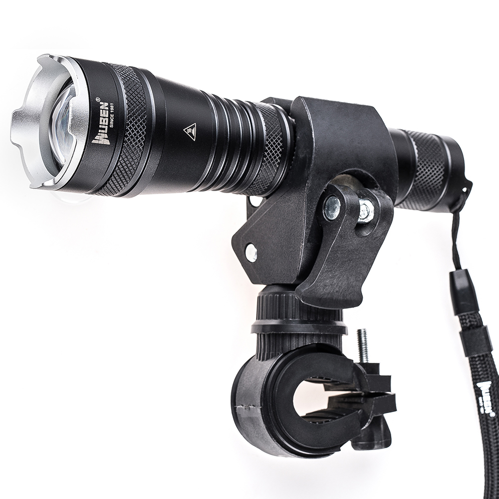 Waterproof Zoomable LED Flashlight Tactical Torch Powerful Cree XPL2 Hunting flashlight Light + Bicycle Mount + 18650 Battery cree xm l t6 bicycle light 6000lumens bike light 7modes torch zoomable led flashlight 18650 battery charger bicycle clip