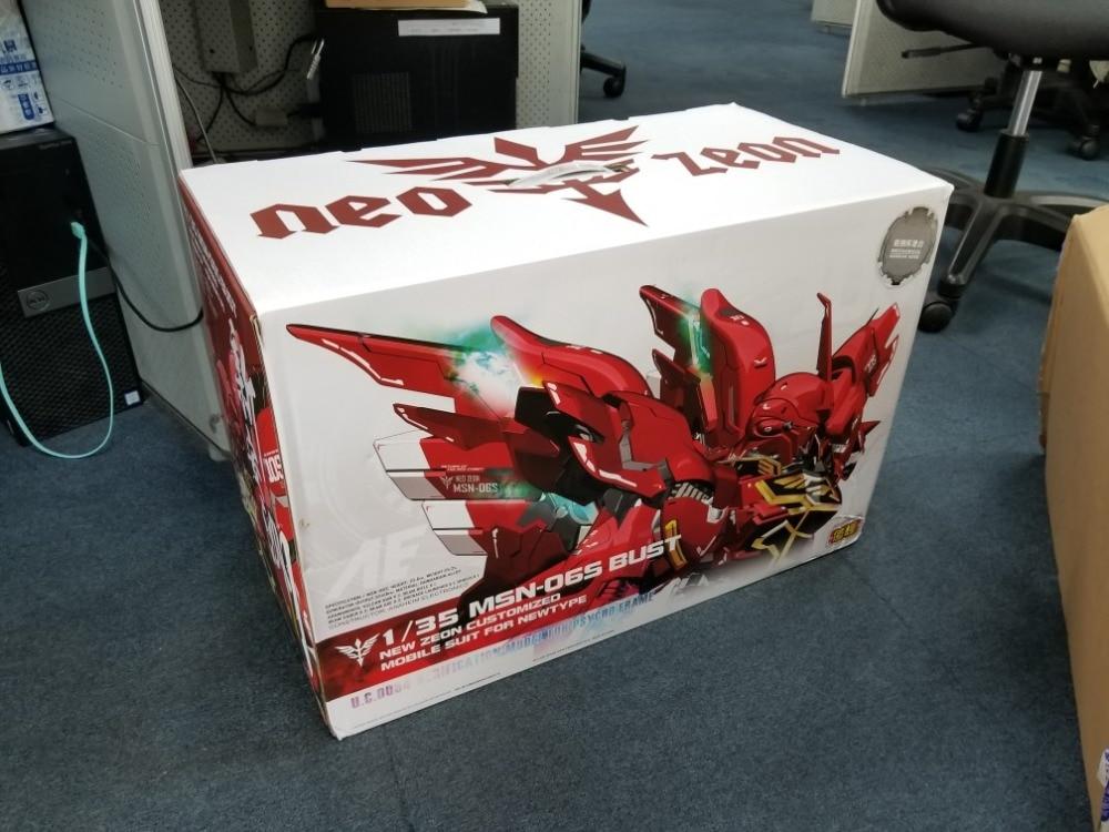 Yihui Sinanju 1//35 Scale MSN-06S Bust Model Kit Suit For Newtype New