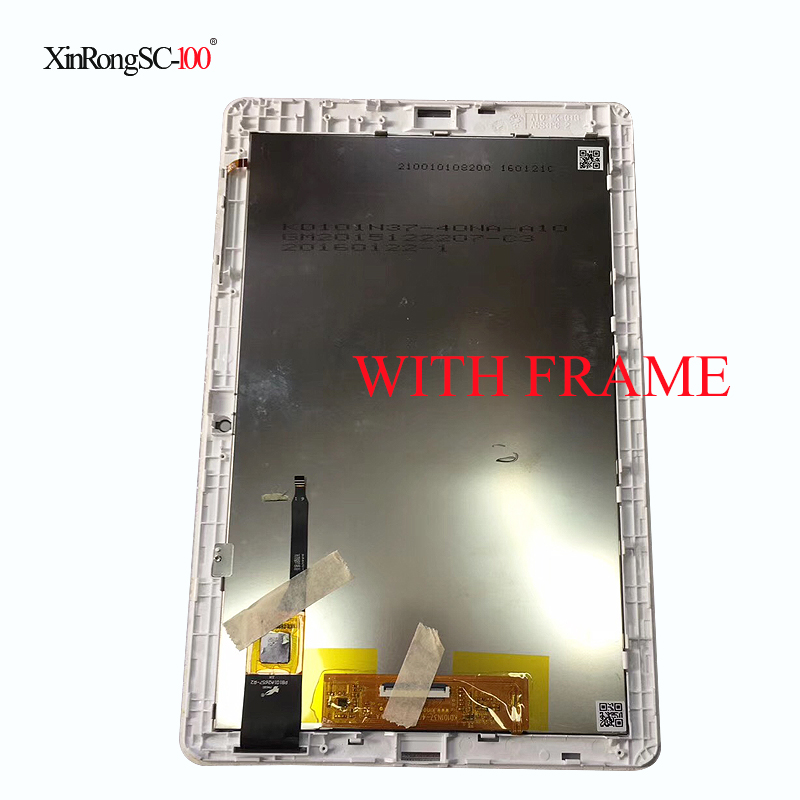 New For Acer iconia one 10 b3-a30 Assembly With Frame Lcd Digitizer Touch Screen Replacement free shipping for acer liquid jade z s57 lcd display with white touch screen digitizer frame assembly by free shipping 100