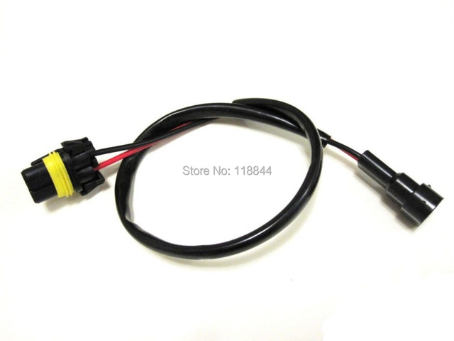 2Pcs 35W 55W Xenon HB3 HB4 9005 9006 Wire Harness HID ballast to Stock Socket For_640x640 aliexpress com buy 2pcs 35w 55w xenon hb3 hb4 9005 9006 wire 120V Ballast Wiring Diagram at soozxer.org