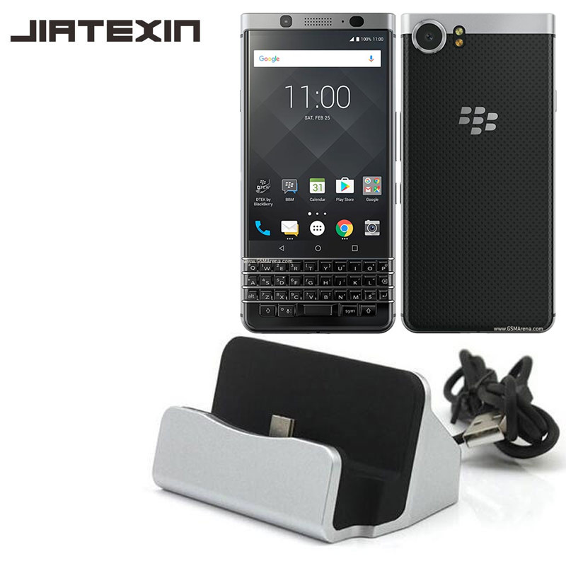 JIATEXIN Desktop Data Sync Type-C USB Cable Dock Charger Station For BlackBerry Keyone /Mercury Type-C USB Charging Dock Adapter