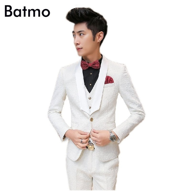 2017 new arrival high quality white embossing men\'s suit ,men\'s ...