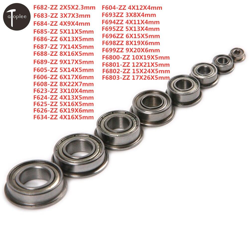 10PCS MR74 Open 4*7*2 mm Miniature Bearings Ball Mini Bearing 4X7X2mm