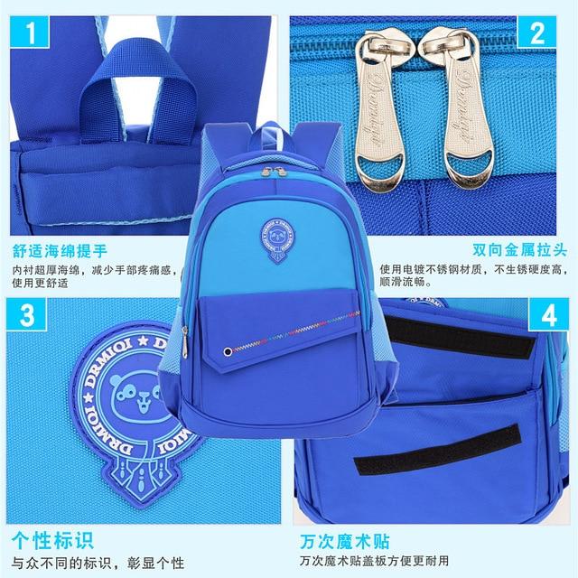 детская школьная сумка водонепроницаемая ортопедическая для фотография