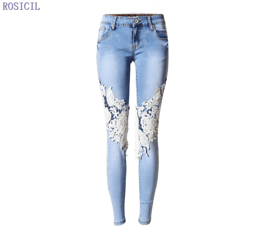 ROSICIL Women Vintage Low Waist Jeans Pencil Stretch Denim Pants Female Slim Skinny Trousers for woman womens Hot rosicil women vintage low waist jeans pencil stretch denim pants female slim skinny trousers for woman womens plus size
