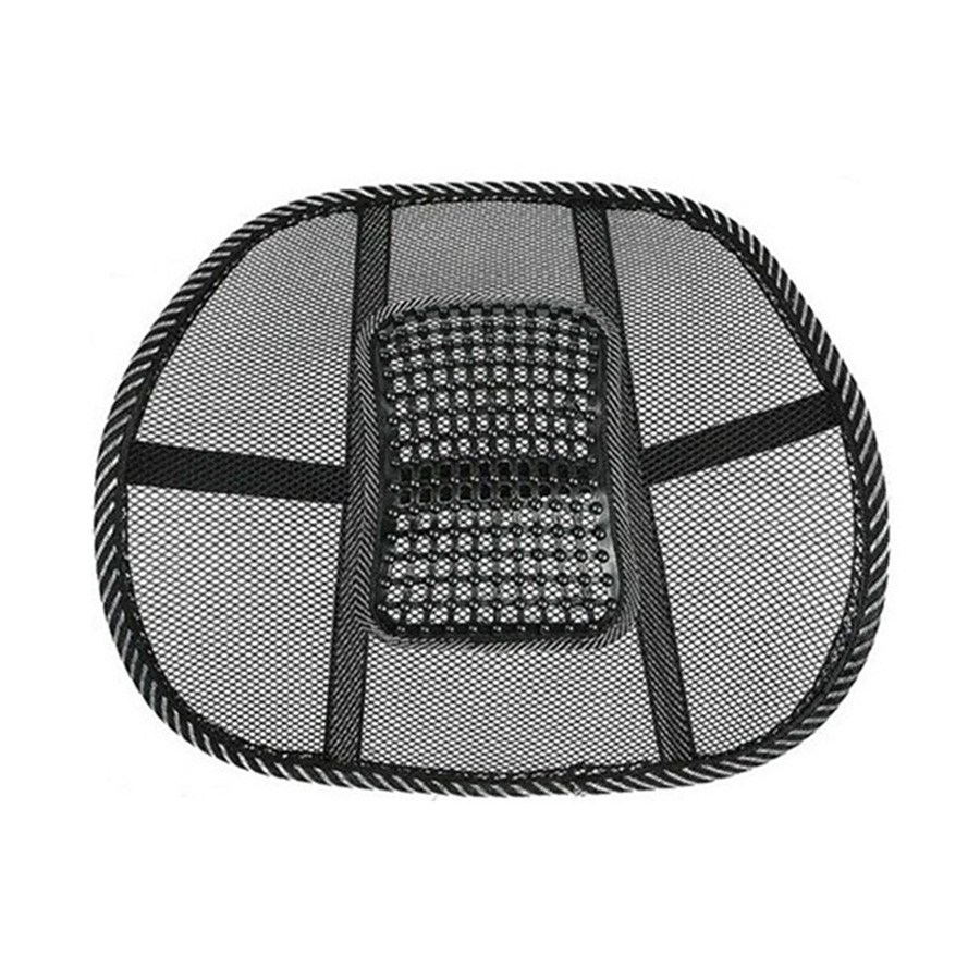 Back Support Massage Cushion Mesh Relief Lumbar Brace Car Truck 1