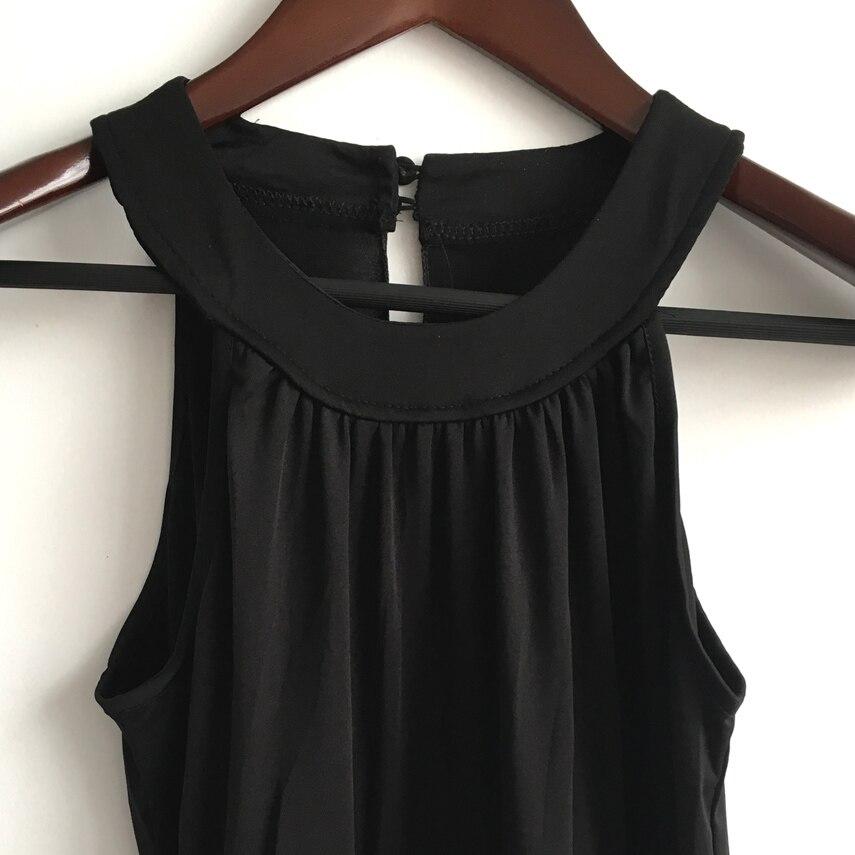21f9aee32c Kobiety długie letnie sukienki 2019 elastyczny pas Sexy Maxi sukienki  długie bawełniane na co dzień bez rękawów kobiety Plus rozmiar czarne  sukienki w ...